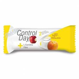 CONTROL DAY BAR. YOGUR MELOCOTÓN 24ud NUTRI SPORT