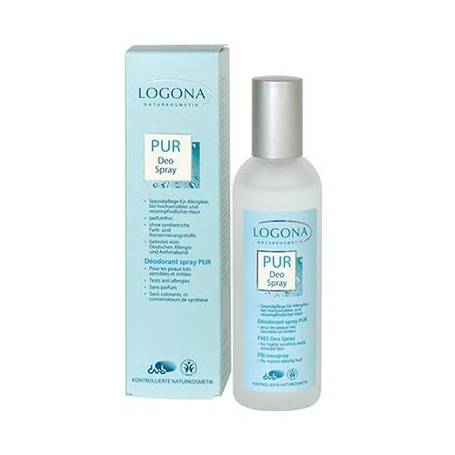DESODORANTE PUR S/PERFUME SPRAY 100ml LOGONA Cosmética e higiene natural 9,73€