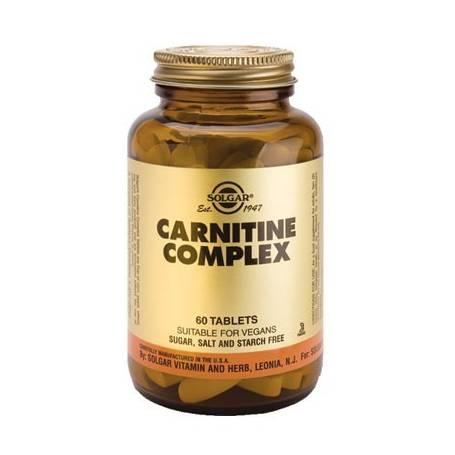 CARNITINA COMPLEX 60comp SOLGAR