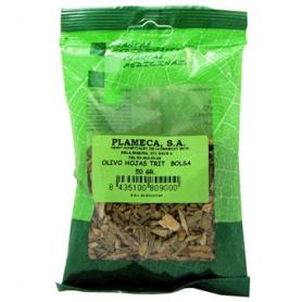 OLIVO HOJAS TRITURADAS 50gr PLAMECA Plantas Medicinales 1,14€