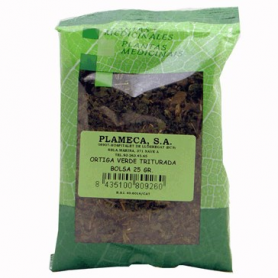 ORTIGA VERDE TRITURADA 25gr PLAMECA Plantas Medicinales 0,72€