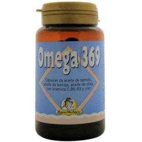 OMEGA 3-6-9 100perl MAESE HERBARIO Suplementos nutricionales 14,13€