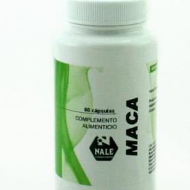 MACA 500MG 60cap NALE Plantas Medicinales 14,59€