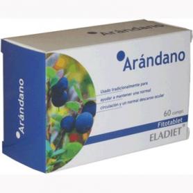 FITOTABLET ARANDANO 60comp ELADIET Plantas Medicinales 4,92€