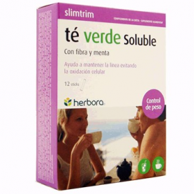 SLIM TRIM TE VERDE SOLUBLE 12sticks HERBORA Suplementos nutricionales 5,71€
