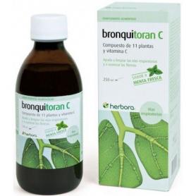 BRONQUITORAN C MENTA JARABE 250ml HERBORA Suplementos nutricionales 9,02€