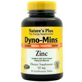 DYNOMINS ZINC 60comp NATURE'S PLUS Suplementos nutricionales 15,96€