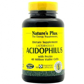 ACIDOPHILUS 40MILL 90caps NATURE'S PLUS Suplementos nutricionales 15,16 €