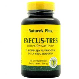EXECUS-TRES COMP 60comp NATURE'S PLUS Plantas Medicinales 20,37€