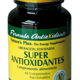 SUPERANTIOXIDANTES 60comp NATURE'S PLUS Suplementos nutricionales 29,02 €