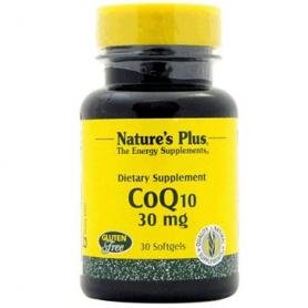 COENZIMA Q10 30MG 30perl NATURE'S PLUS Suplementos nutricionales 27,12€
