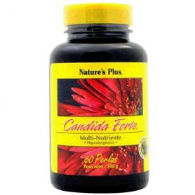 CANDIDA FORTE 60cap NATURE'S PLUS Plantas Medicinales 27,92€
