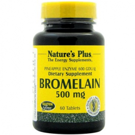 BROMELAINA 500MG 60comp NATURE'S PLUS Plantas Medicinales 33,80 €