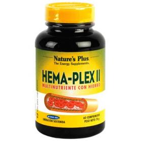 HEMA PLEX II 60comp NATURE'S PLUS Plantas Medicinales 21,17€