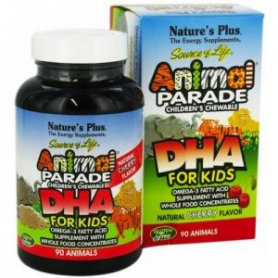 ANIMAL PARADE DHA MASTICABLE 90comp NATURE'S PLUS Suplementos nutricionales 21,24 €