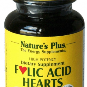 ACIDO FOLICO HEARTS 90comp NATURE'S PLUS Ácido Fólico 7,35 €