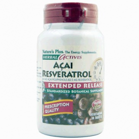 ACAI RESVERATROL 30comp NATURE'S PLUS