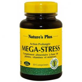 MEGA STRESS 30comp NATURE'S PLUS Suplementos nutricionales 14,16€