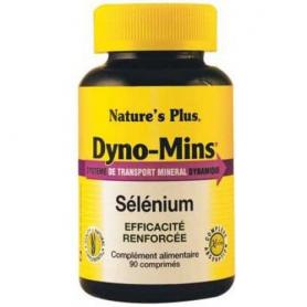 DYNOMINS SELENIO 60comp NATURE'S PLUS Suplementos nutricionales 6,75€