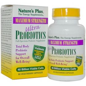 ULTRA PROBIOTICS 30cap NATURE'S PLUS Suplementos nutricionales 37,27€