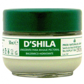 BALSAMO PECTORAL RESPIR-EUCALIPTO 50ml D'SHILA Parafarmacia 11,24€