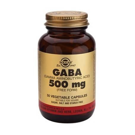 GABA 500mg 50cap SOLGAR Suplementos nutricionales 24,81€