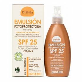 EMULSION FOTOPROTECTORA SPF25 200ml D'SHILA Cosmética e higiene natural 30,20€