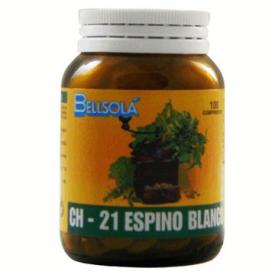 CH-21 ESPINO BLANCO 100comp BELLSOLÁ Plantas Medicinales 7,01€