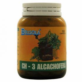 CH-3 ALCACHOFERA 100comp BELLSOLÁ Plantas Medicinales 7,41€