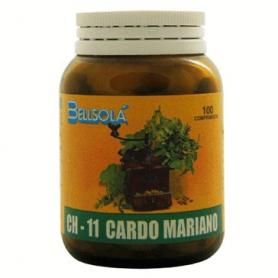 CH-11 CARDO MARIANO 100comp BELLSOLÁ Plantas Medicinales 7,63€