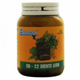 CH-22 DIENTE DE LEÓN 100comp BELLSOLÁ Plantas Medicinales 7,45€