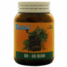 CH-38 OLIVO 100comp BELLSOLÁ Plantas Medicinales 8,00€
