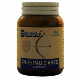 CH-36 PAU d'ARCO 100comp BELLSOLÁ Plantas Medicinales 10,26€