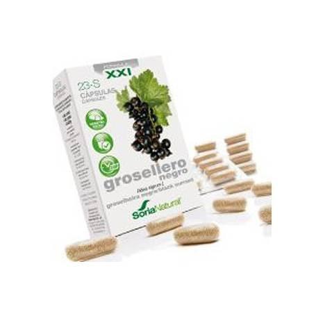 23-S GROSELLERO NEGRO Fórmula XXI 30cap SORIA NATURAL Suplementos nutricionales 13,59€
