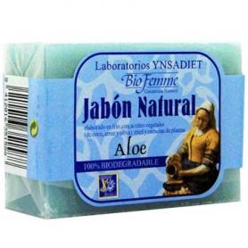 JABON ALOE VERA ANTIINFLAMATORIO 100g YNSADIET Cosmética e higiene natural 2,28€