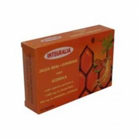 JALEA REAL + GINSENG CON ACEROLA 45cap INTEGRALIA Suplementos nutricionales 18,37€