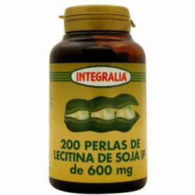 LECITINA DE SOJA IP 540mg 200perl INTEGRALIA Suplementos nutricionales 8,82€
