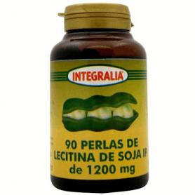 LECITINA DE SOJA IP 1200mg 90perl INTEGRALIA Suplementos nutricionales 9,28€