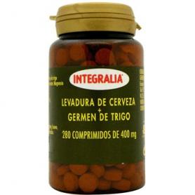 LEVADURA DE CERVEZA + GERMEN DE TRIGO 280comp INTEGRALIA