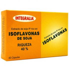 ISOFLAVONAS 60cap INTEGRALIA Suplementos nutricionales 14,49€
