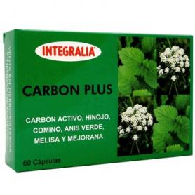 CARBON PLUS 60cap INTEGRALIA Plantas Medicinales 8,75€