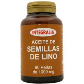 ACEITE DE LINO 90perl INTEGRALIA Plantas Medicinales 14,23€