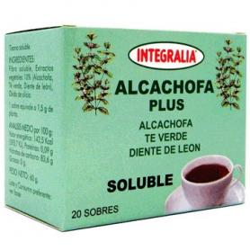 ALCACHOFA PLUS INFUSION 20ud INTEGRALIA Plantas Medicinales 7,01€