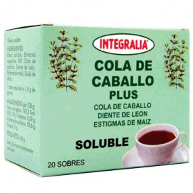 COLA DE CABALLO PLUS INFUSION 20ud INTEGRALIA