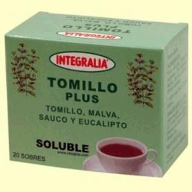 TOMILLO PLUS INFUSION 20ud INTEGRALIA Plantas Medicinales 7,01€
