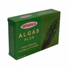 ALGAS PLUS 60cap INTEGRALIA Suplementos nutricionales 11,55€