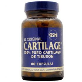 CARTILAGE 740MG 80cap GSN Plantas Medicinales 36,80€