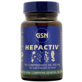 HEPACTIV 400MG 90comp GSN Plantas Medicinales 7,72€