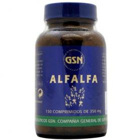 ALFALFA 350mg 150comp GSN Plantas Medicinales 5,01€