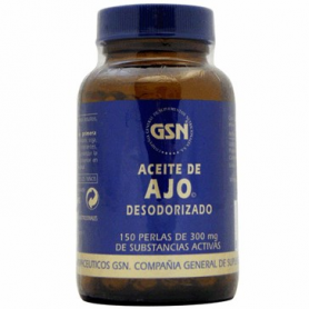 AJO 300mg 150perl GSN Plantas Medicinales 10,70€